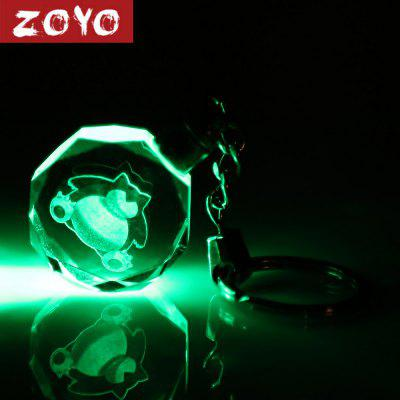 ZOYO Character Theme Key Chain with Light Decoration