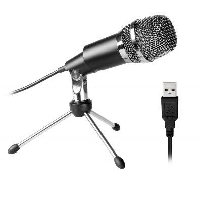FIFINE K668 USB Stereo Microphone for PC Laptop