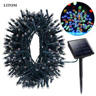 Litom Rechargeable Solar String Light