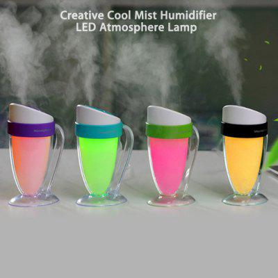 Creative USB Cool Mist Humidifier LED Night Light