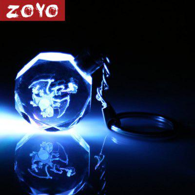 ZOYO Crystal Cartoon Character Theme Key Chain