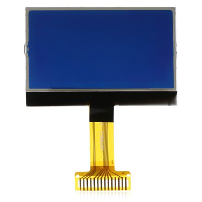 5 - 100mW 128 x 64 Dot Matrix LCD Module with Backlight