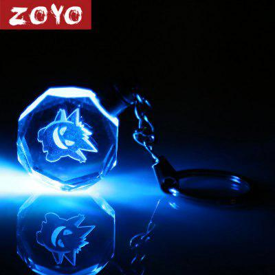 ZOYO Cartoon Figure Style Crystal Key Chain