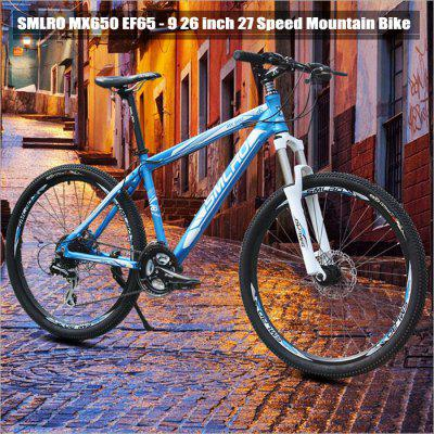 SMLRO MX650 EF65 - 9 26 inch 27 Speed Mountain Bike
