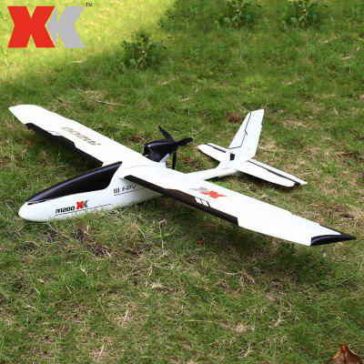 XK A1200 EPO RC Airplane RTF -  WHITE AND BLACK
