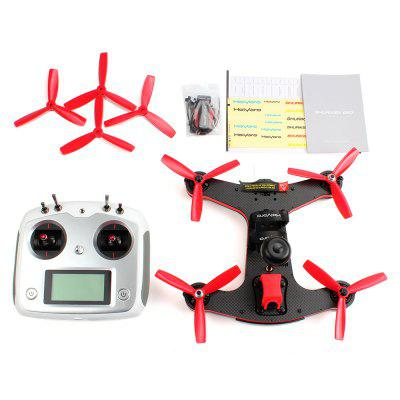 Holybro Shuriken 250 FPV Racing Drone - RTFBrushless FPV Racer<br>Holybro Shuriken 250 FPV Racing Drone - RTF<br><br>Battery (mAh): 1300mAh 3S LiPo<br>Brand: Holybro<br>Channel: 10-Channels<br>Detailed Control Distance: 200-300m<br>Mode: Mode 2 (Left Hand Throttle)<br>Package Contents: 1 x Quadcopter, 1 x Transmitter, 1 x Charger, 4 x Spare Propeller, 1 x 1300mAh 3S LiPo Battery, 1 x Power Cable, 1 x Pack of Accessories, 1 x English Manual<br>Package size (L x W x H): 40.00 x 24.00 x 35.00 cm / 15.75 x 9.45 x 13.78 inches<br>Package weight: 2.150 kg<br>Product size (L x W x H): 27.50 x 27.50 x 5.00 cm / 10.83 x 10.83 x 1.97 inches<br>Product weight: 1.380 kg<br>Remote Control: 2.4GHz Wireless Radio Control<br>Transmitter Power: 4 x 1.5V AA (not included)<br>Type: Frame Kit<br>Video Resolution: 700TVL