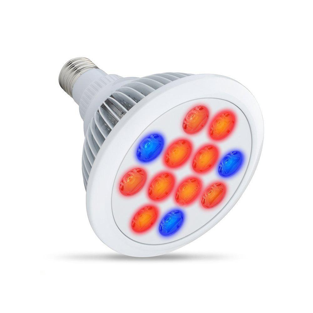 E27 12-LED 36W Plant LED Growing Light Bulb