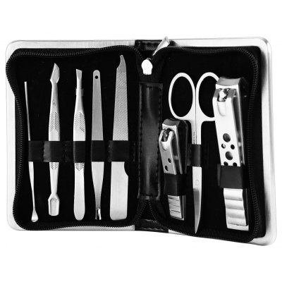 GS838 8 in 1 Manicure Set Pedicure Tool for Cutting / Cleaning
