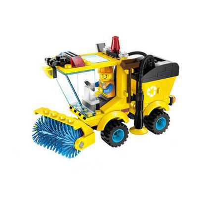 DIY Engineering Vehicle Style Building Block Kit
