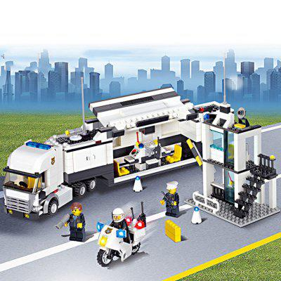 DIY Police Station Building Block Kit PuzzleBlock Toys<br>DIY Police Station Building Block Kit Puzzle<br><br>Completeness: Semi-finished Product<br>Gender: Unisex<br>Materials: ABS<br>Package Contents: 511 x Module<br>Package size: 38.50 x 6.50 x 28.50 cm / 15.16 x 2.56 x 11.22 inches<br>Package weight: 0.910 kg<br>Product size: 35.00 x 5.00 x 8.00 cm / 13.78 x 1.97 x 3.15 inches<br>Product weight: 0.680 kg<br>Stem From: Europe and America<br>Theme: Movie and TV