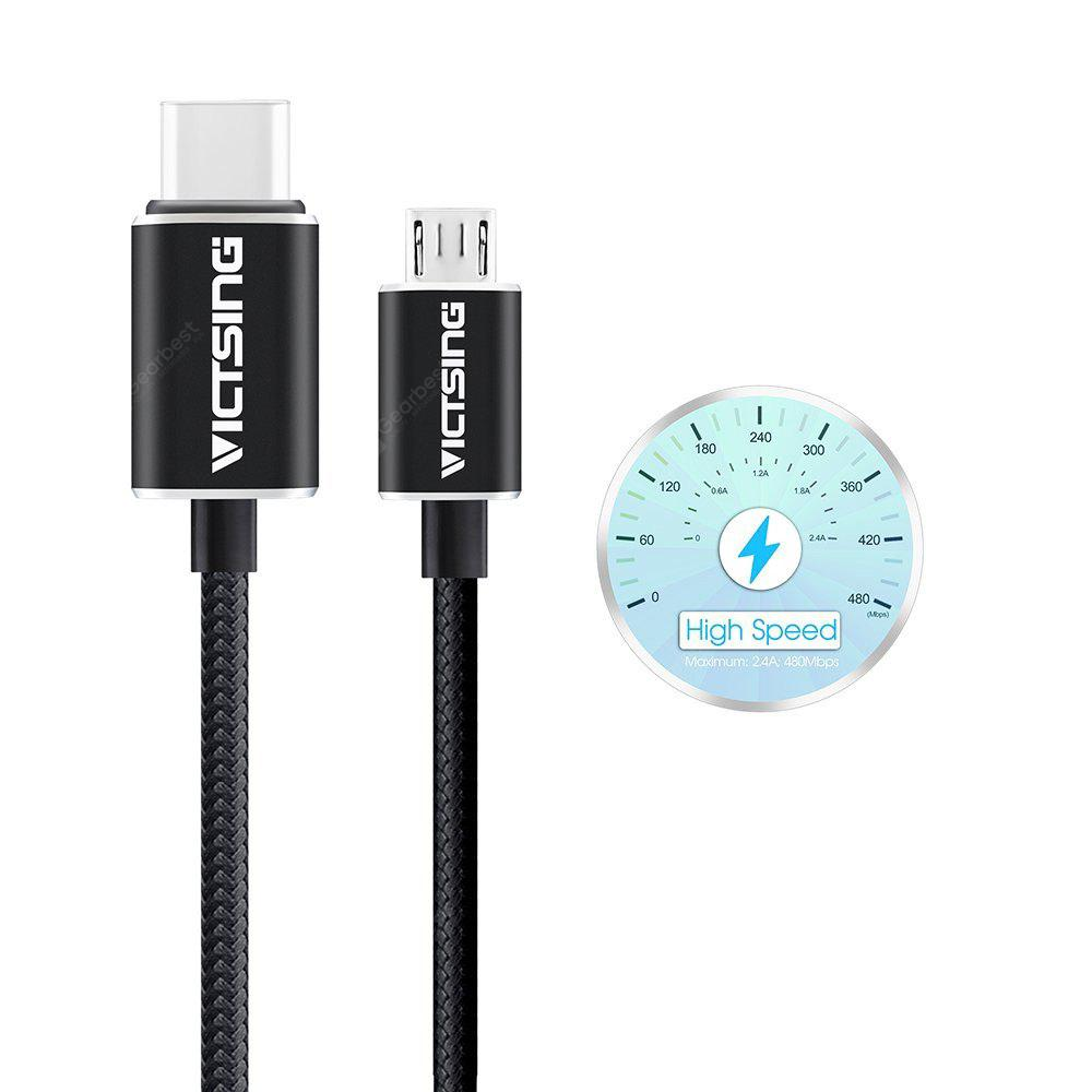 VicTsing 1m Type-C to Micro USB Data Transfer Charging Cable