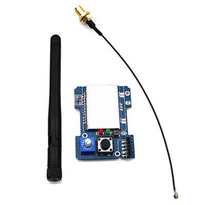 2.4GHz CC2500 24L01 A7105 6936 4-in-1 Multiprotocol Transmitter Module with Antenna