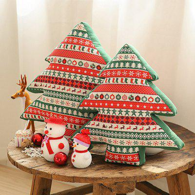 Senhot Christmas Tree Shaped Soft Pillow Cushion