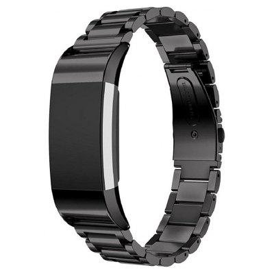 Buy BLACK Three Bead Fitbit Charge 2 Smart Watch Band for $19.75 in GearBest store