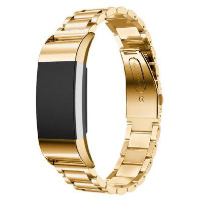 Buy GOLDEN Three Bead Fitbit Charge 2 Smart Watch Band for $18.60 in GearBest store