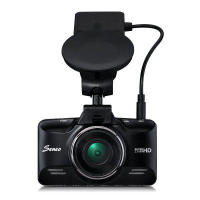 Seneo 2.7 inch 1296P Ambarella CPU Car DVR with GPS