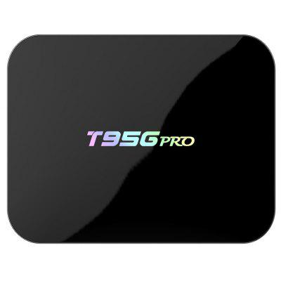 Buy BLACK Sunvell T95Gpro TV Box Amlogic S912 Octa Core for $72.05 in GearBest store