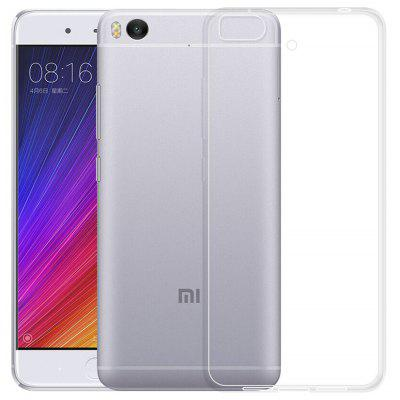 Luanke Transparent TPU Soft Phone Case for Xiaomi 5S