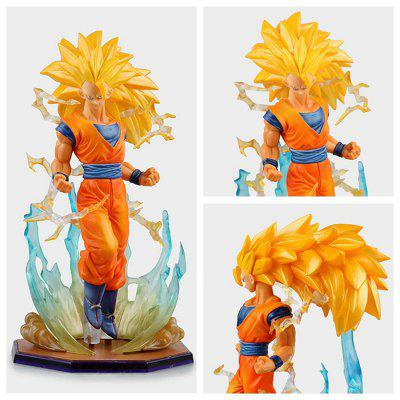 Buy COLORMIX PVC Static Action Figure Model Office Decor 7 inch for $22.52 in GearBest store