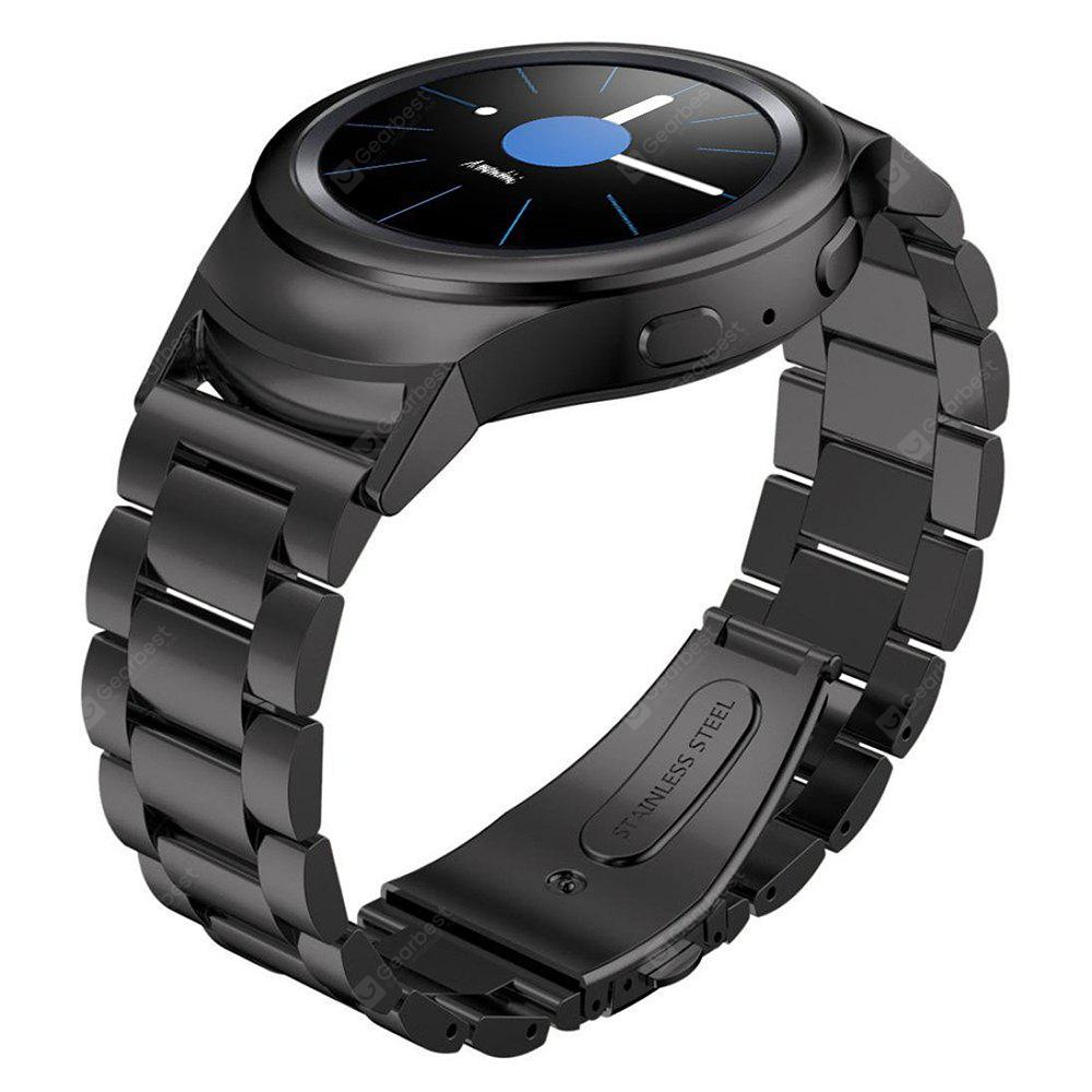 Three Bead Smart Watch Strap Stainless Steel Band