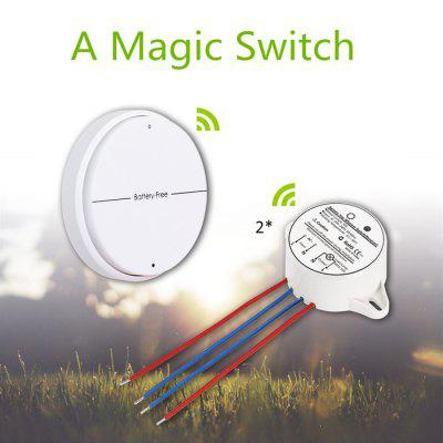 Battery - Free SIM1010 - K22 Wireless Light Wall Switch Self Powered Remote Control