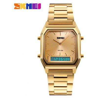 SKMEI 1220 Fashion EL Backlight 30m impermeable reloj unisex