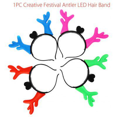 1pc Creative Festival Antler LED-haarband