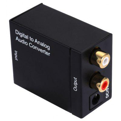 DA Digital to R / L Analog Audio Converter Switcher