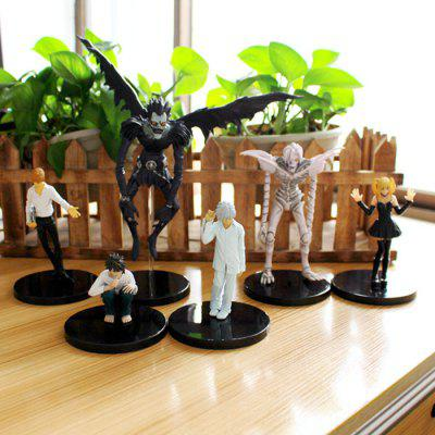 Collectible Action Figure PVC + ABS Model - 6pcs / set