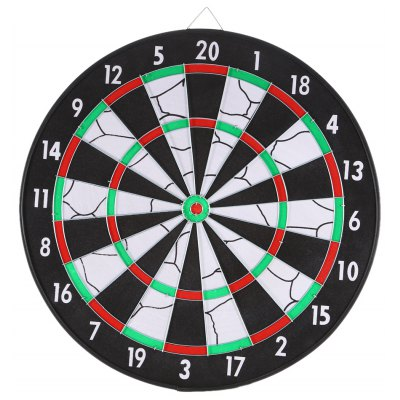 JOEREX JD6081 17 inch Flocked Dartboard Set
