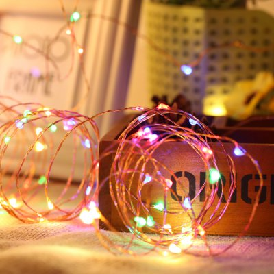 Bendable Copper Wire Fairy Lights Festival Seasonal Lighting