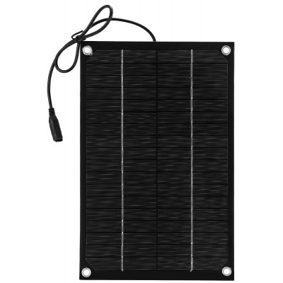 Buy BLACK SUNWALK 6W 18V Monocrystalline Silicon Solar Charger Panel for $13.80 in GearBest store