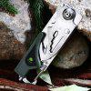 best Sanrenmu 6050 LUF - PP - T4 Multi-use Folding Knife / LED Light