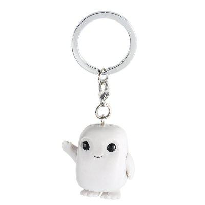 Alloy + PVC Key Chain Phone Wallet Decoration - 1.57 inch
