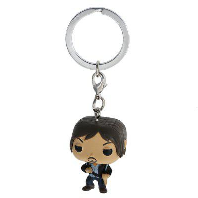 Action Figure Shape Key Chain Wallet Decor - 1.57 inch