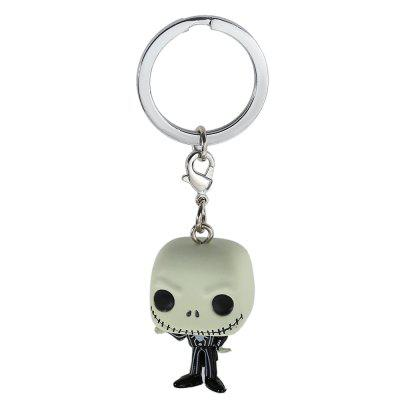 Alloy + PVC Key Chain Wallet Decor - 1.57 inch