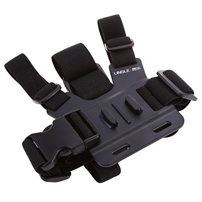 LEINGLE L02 Camera Holder Chest Straps for Action Camera