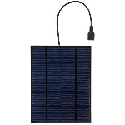Buy BLACK SUNWALK 5.5W 5V Monocrystalline Silicon Solar Charger Panel for $15.15 in GearBest store
