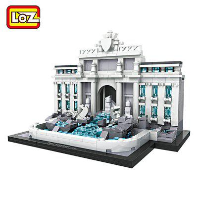 LOZ Architecture ABS Cartoon Building Brick - 677pcs