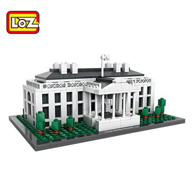 LOZ Architecture ABS Cartoon Building Brick - 588pcs