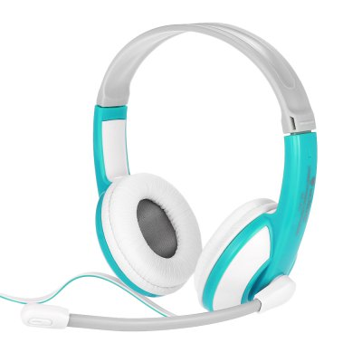 Nubwo NO - 520 Multimedia Stero Headset Blue Headphones
