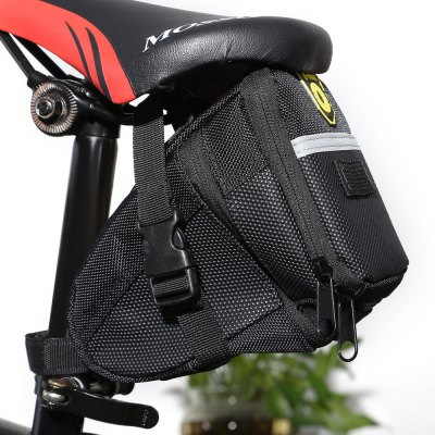 B - SOUL YA0208 1.5L / 1.8L Extendable Bicycle Saddle Bag