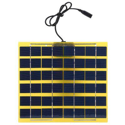 Buy GINGER SUNWALK 5W 12V Polycrystalline Silicon Solar Charger Panel for $19.21 in GearBest store