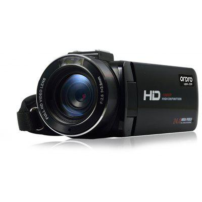 Buy BLACK ORDRO HDV Z20 WiFi 24MP 16X Digital Zoom DV Camera for $107.61 in GearBest store
