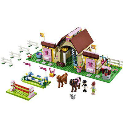 Cartoon Figure Style ABS Building Brick - 400pcs
