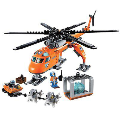 Cartoon Figure Style ABS Building Brick - 273pcs