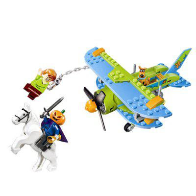 Aircraft Theme Cartoon Figure Style Building Brick - 127pcs
