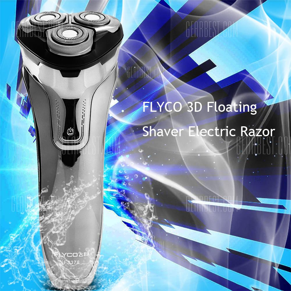 Special price for FLYCO FS378 3D Floating Shaver Electric Razor  -  SILVER