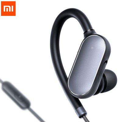 Xiaomi Wireless Bluetooth 4.1 Music Sport Earbuds  -  BLACK