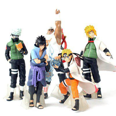 PVC   ABS Static Action Figure   5pcs   set